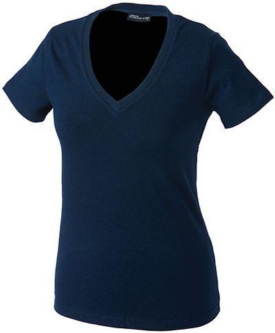 d92266bb96f ... krátký rukáv námořní modř S. Dámské triko s elastanem námořní modř