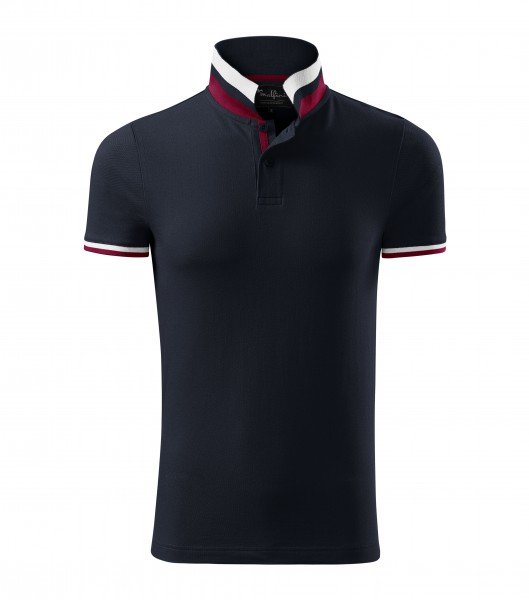 Polo triko COTTON navy
